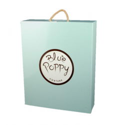 Promotional Luxury Packaging for Blue Poppy