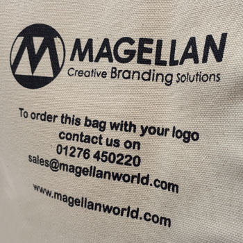Custom High End Canvas Bag Magellan