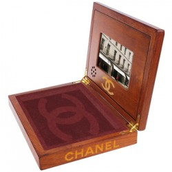 Wooden Video Box for Chanel