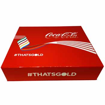 Bespoke Custom Coca Cola Box