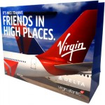 Virgin Airways Rope Laminated Bag