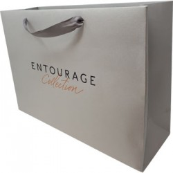 Luxury Paper Card Carrier Bag for Entourage