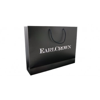 Printed EarlCrown Rope Handled Gloss Laminate Bag