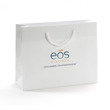 Printed EOS Gloss Laminate Rope Handled Bag