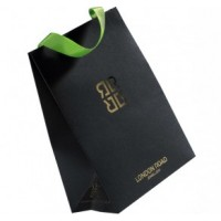 Luxury Printed Ribbon Handle Paper Bag for London Road