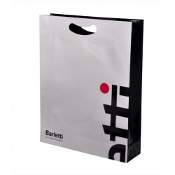 Custom Printed Die Cut Paper Carrier Bag for Barletti