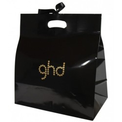 Printed Gloss Die Cut Handle Paper Bags for ghd
