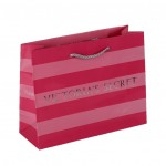 Printed Luxury Paper Matt Bag for Victoria's Secret
