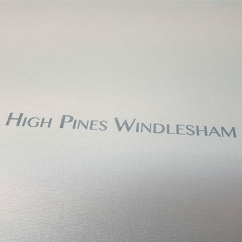 Luxury Presentation Box for High Pines