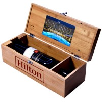 Video Wine Box for Hilton