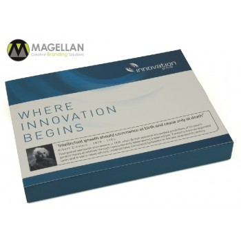 Printed USB Presentation Packaging for Innovation Group