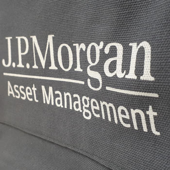 Branded Luxury Canvas Bag for J.P. Morgan