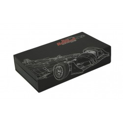 Jim Russel Racing School custom membership box
