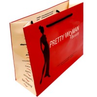 Gloss Rope Handled Bag for Pretty Woman