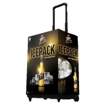 Promotional Drinks Trolley for Miller