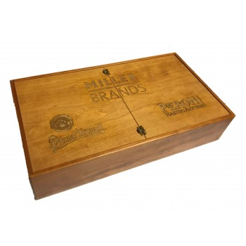 Promotional Wooden Packaging for SAB Miller