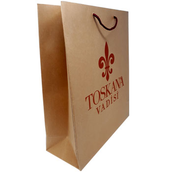 Luxury Rope Handle Paper Bag for Toskana