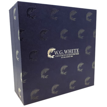High End Foil Blocked Packaging for W.G.White