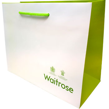 High End Embossed Bag for Waitrose