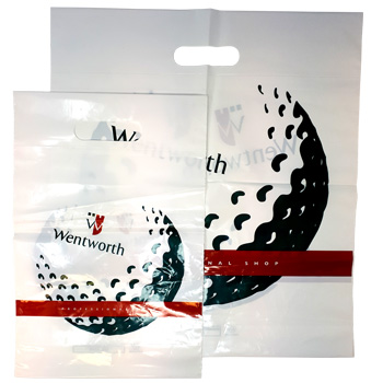 Wentworth Plastic Retail Bag