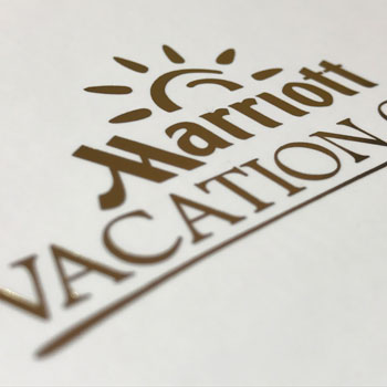 Promotional Presentation Box for Marriott Vacation Club