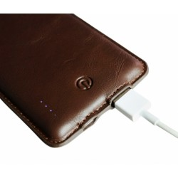 Promotional Leather Powerbank
