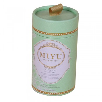 Custom Round Boxes for Miyu Tea