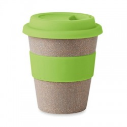 Eco Friendly Branded Takeaway Bamboo Coffee Cup