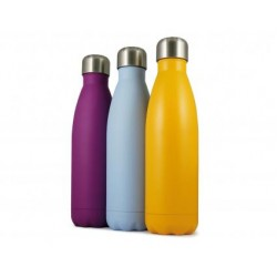 Personalised Insulated Colour Coated Water Bottle - 500ml