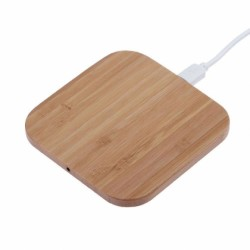 Branded Printed Wooden Wireless Charger