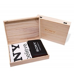 Premium Wooden Scorecard Holder Presentation Box