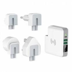 Promotional 3 in 1 Travel Adapter