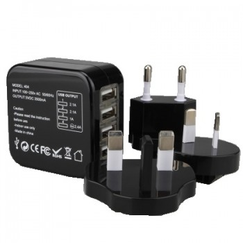 High End Branded Travel Adapter