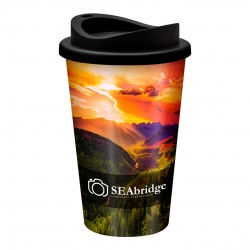 Universal Full Colour  Branded Takeaway Coffee Cup