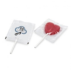 Heart or Round Flat Lollipop