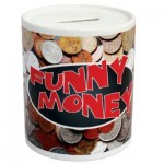 DYE SUBLIMATION PRINTED MONEY BOX