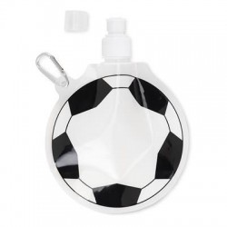 Promotional Football Shaped Folding Sports Bottle