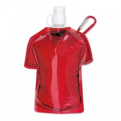 Promotional Tee Shirt Folding Sports Bottle