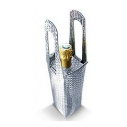 Metallic Bottle Bag