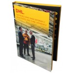 Custom Made Hard Back Video Brochure for DHL