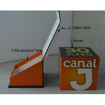 Bespoke Video Box for Canal J