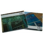 Hard Back Multi Page 7 inch Video Book for Regus