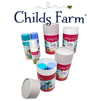 Childs Farm influencer tubes