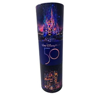 Disney 50th anniversary influencer invitation tube