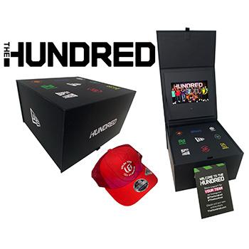 The Hundred influencer video box - single cap