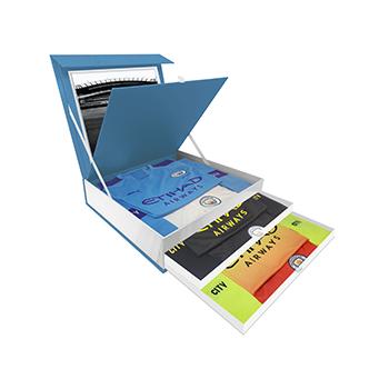 Manchester City FC presentation box - kit box