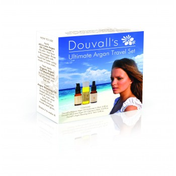 Douvalls cosmetic travel set