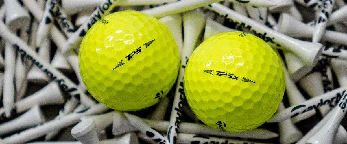 Branded golf equipment