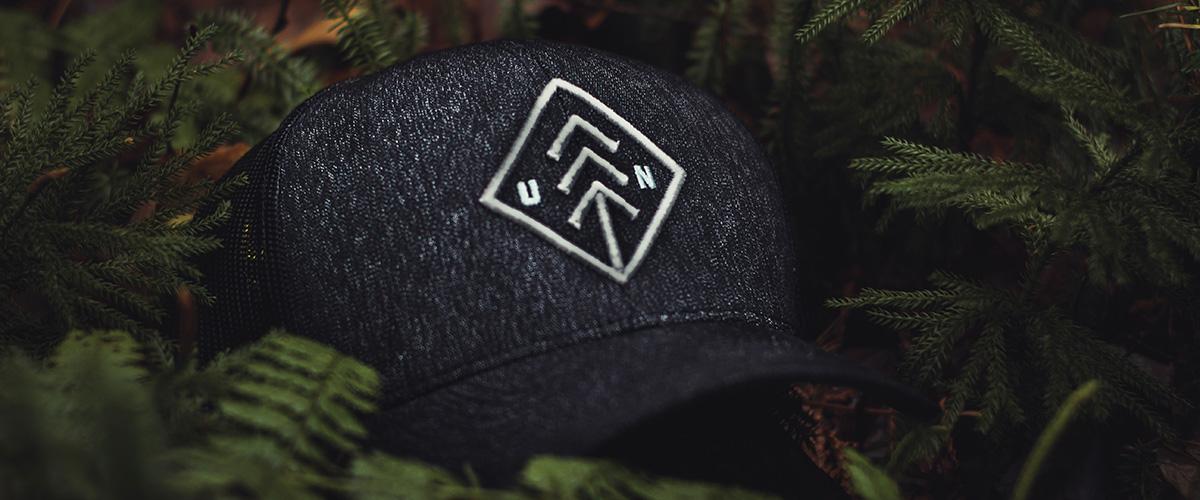 Branded golf headwear