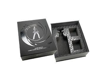 custom luxury packaging for james bond